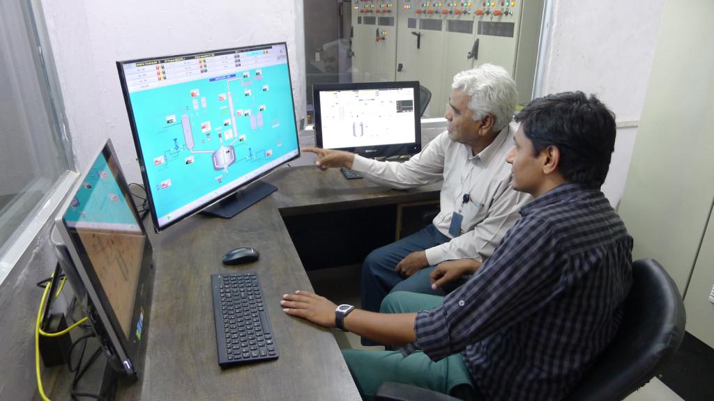 CRAMS / Pilot Plant: DCS Control Centre