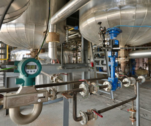 Production Site: Sophisticated Instrumentation in a Manufacturing  Plant