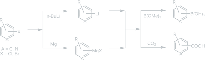 Complementary Grignard and Organolithiation