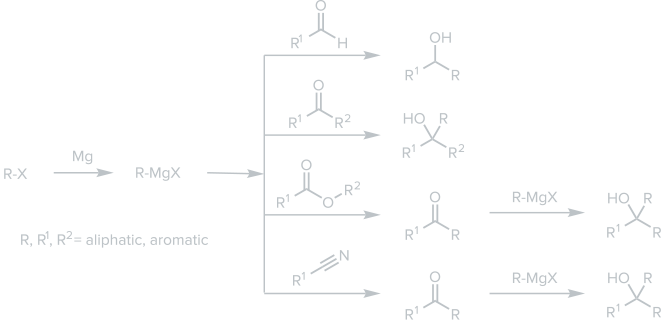 Grignard with Carbonyl Compounds
