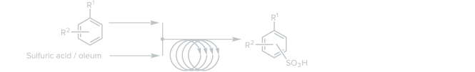 Continuous Sulfonation