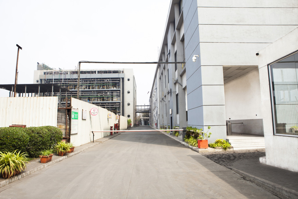 Production Site S2 – Entrance / Overview