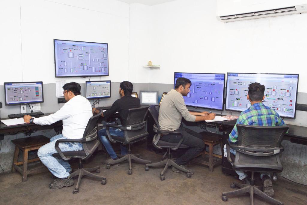 DCS Process Automation Control Centre: Plant 1